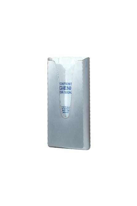 Hygienebeutelspender Wandhalter Edelstahl für Hygienebeutel Papiertüten