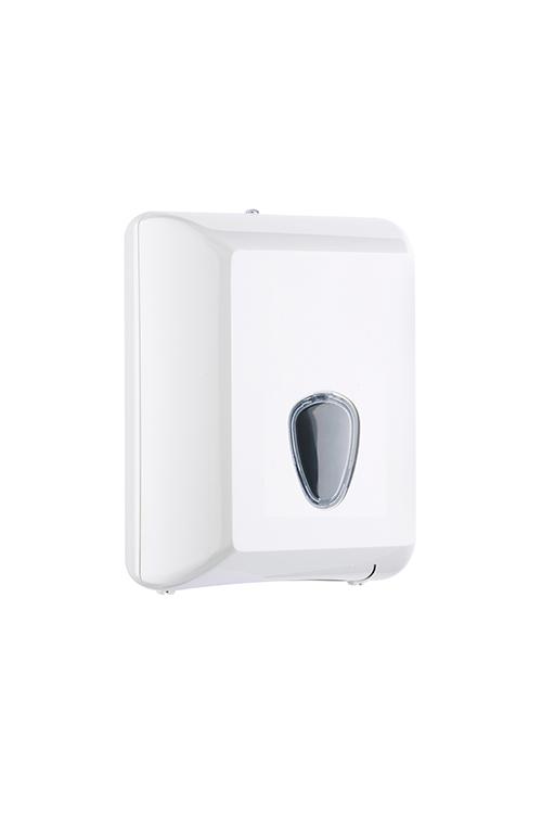 Toilettenpapier-Einzelblatt-Spender Weiß