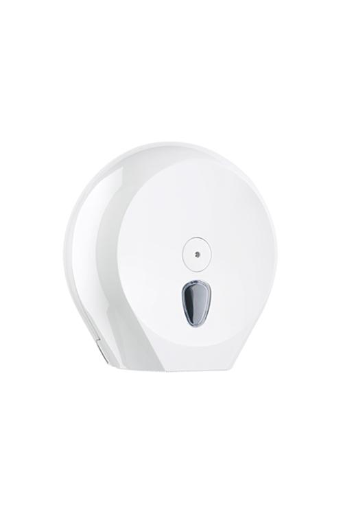 WC-Papier-Großrollen-Spender für Jumbo Toilettenpapier Rollen aus Kunststoff Weiß
